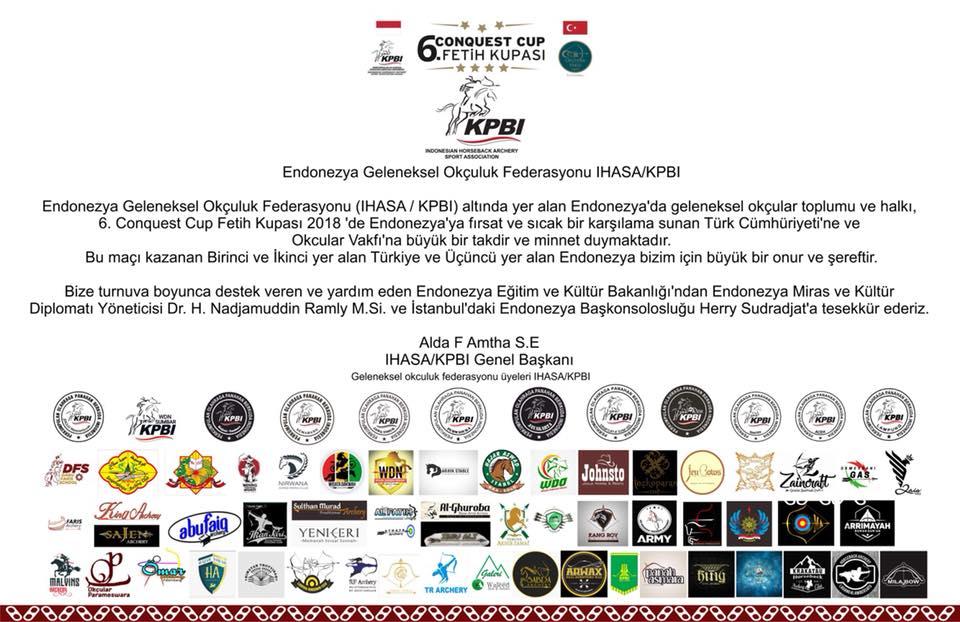 Endonezya Geleneksel Okçuluk Federasyonu IHASA KPBI